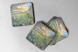 windsor park Coaster set of four